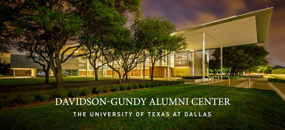 UT Dallas Davidson-Gundy Alumni Center