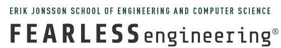 Jonsson School and Fearless Engineering logo