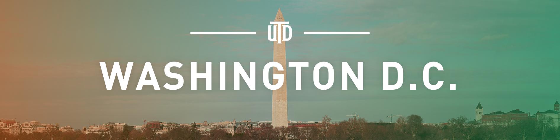 UTD in Washington D.C.