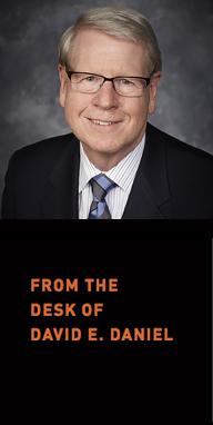 President David E. Daniel